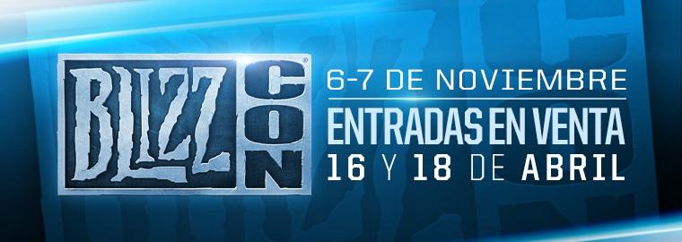 Uníos a la fiesta en la BlizzCon 2015 el 6 y el 7 de noviembre