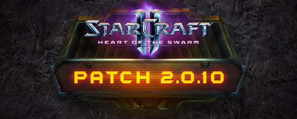 StarCraft II 2.0.10 Patch Notes