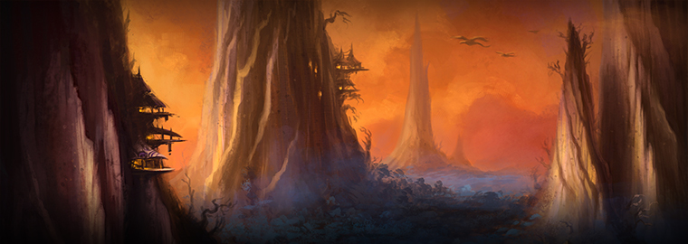 Artcraft—The Spires of Arak