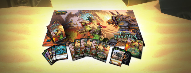 World of Warcraft TCG Tomb of the Forgotten Set Now On Sale