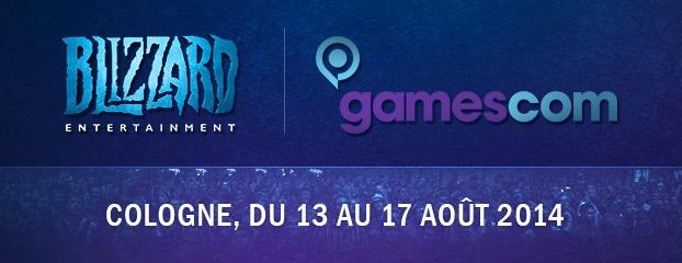Blizzard à la gamescom 2014