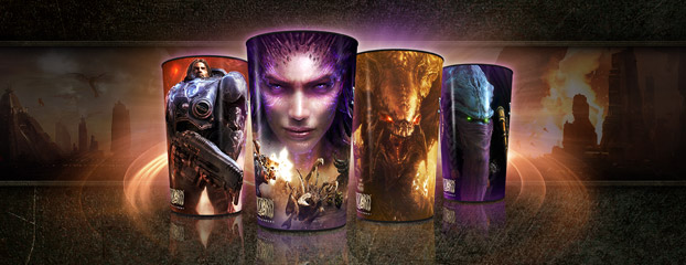 Epic StarCraft II Cups at ampm
