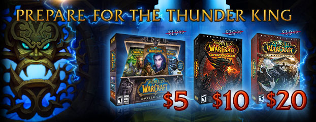 Prepare for the Thunder King!- Sale Ended