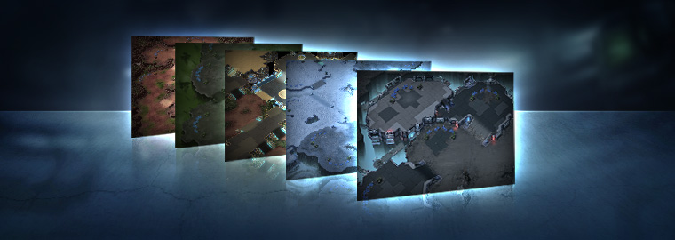 New Ladder Maps for 2014 Season 1