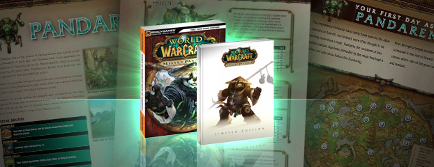 BradyGames Official Mists of Pandaria Strategy Guide Available!
