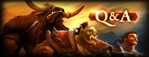 Live Mists of Pandaria Developer Q&A Thursday