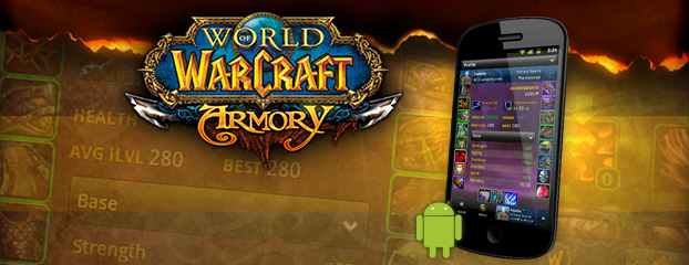 New Features for the World of Warcraft Mobile Armory for Android!