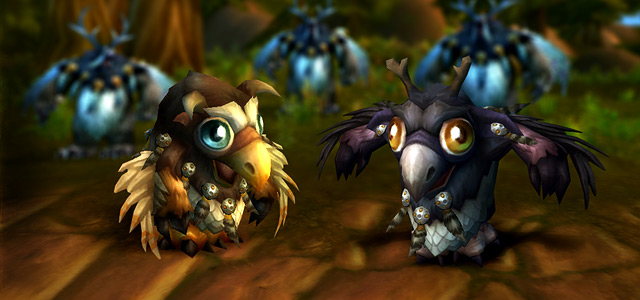 Moonkin Hatchling and Lil' Ragnaros Now Available