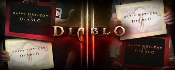 Diablo III is Turning One -- Help Us Celebrate!