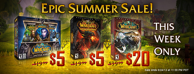 This Week Only -- Epic Summer Sale