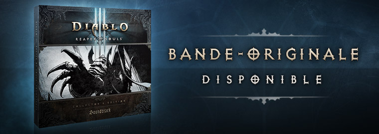 La bande originale de Reaper of Souls est disponible !