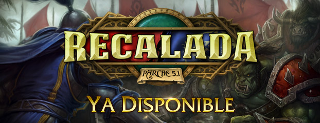 Ya disponible — Parche 5.1: Recalada