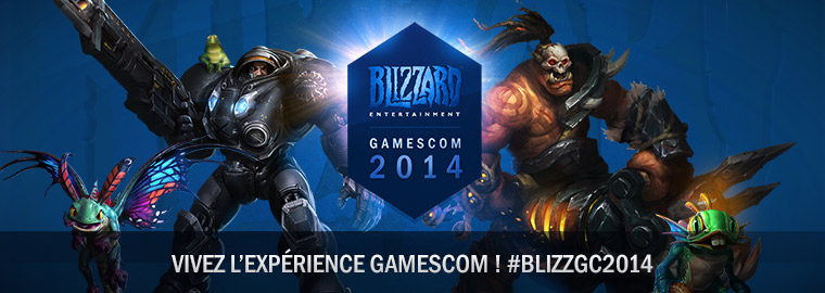 Blizzard à la gamescom