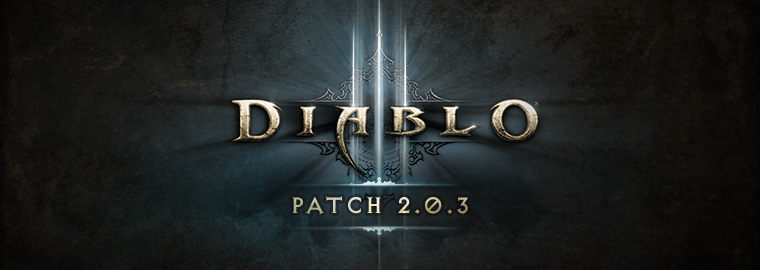 Diablo 3 - Patch 2.0.3