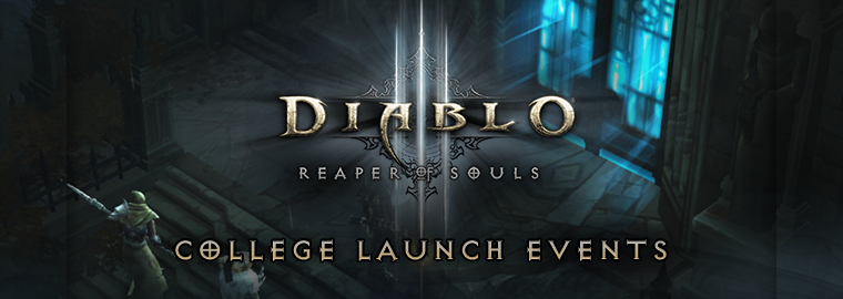 Celebrate Reaper of Souls� with a TeSPA Collegiate Event