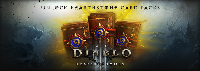 Unlock Expert Card Packs with Reaper of Souls™