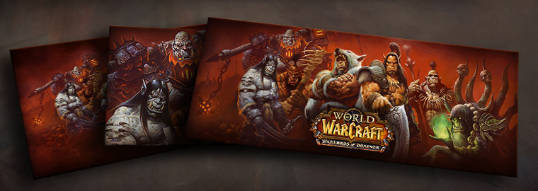 Warlords of Draenor: New Wallpaper Available