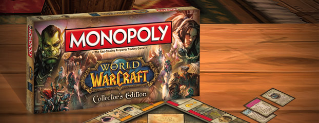 World of Warcraft Monopoly Ready to Play
