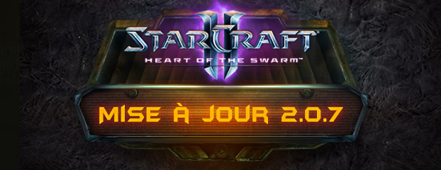 StarCraft II: Heart of the Swarm - Notes de mise à jour 2.0.7