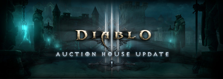 Diablo® III Auction House Update