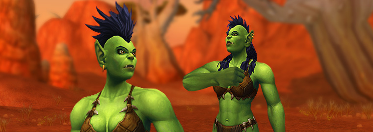 Character Viewer Updated: Orc Female!