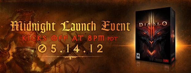 Celebrate the Diablo III Launch with Us on Monday Night