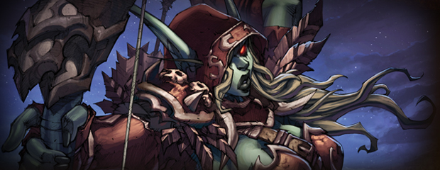 Leaders of the Alliance and Horde -- Sylvanas Windrunner