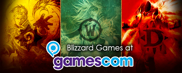 Blizzard Games at gamescom 2013
