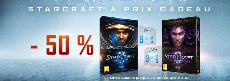 Jusqu'à 65 % de réduction sur les jeux Blizzard !