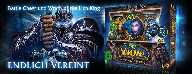 Battle Chest und Wrath of the Lich King - endlich vereint!