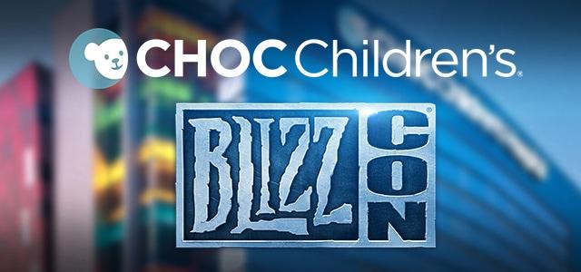 Vente de charité en ligne pour la BlizzCon : aidez les enfants malades !