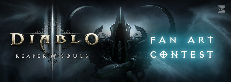 Blizzard and deviantART present: Reaper of Souls™ Fan Art Contest