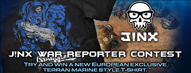 J!NX War Reporter Contest: winners and new theme
