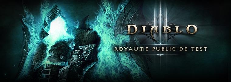 Mise à jour 2.1.2.28341 du royaume de test de Diablo III