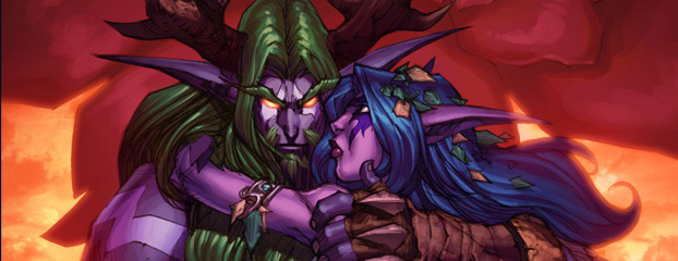 New Lore: Tyrande & Malfurion Story Available!