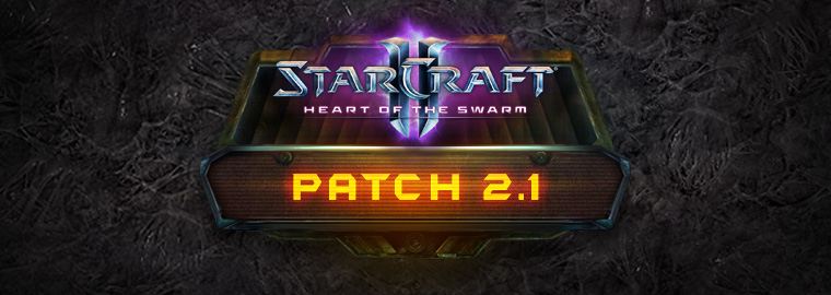 StarCraft II Patch 2.1 Notes