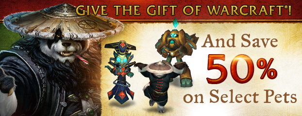 Give the Gift of Warcraft