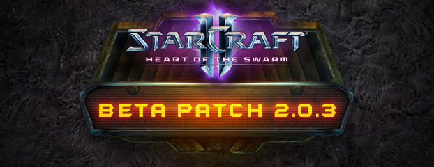 StarCraft II Heart of the Swarm Beta Patch 2.0.3