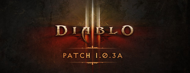 La patch 1.0.3a è ora live!