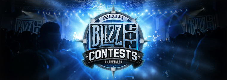 BlizzCon® 2014 Talent Contest—Sign-Ups Now Open!