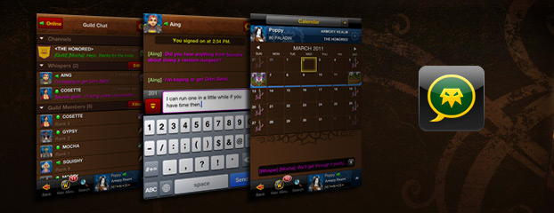 Remote Guild Chat Now on Android, iPhone, and iPod touch