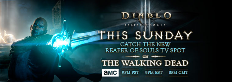 Reaper of Souls™ - TV Spot Debuts this Sunday