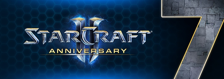Celebrating 7 Years of StarCraft II—Changing the Universe