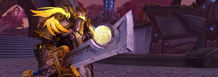 Armes prodigieuses de Legion : le paladin
