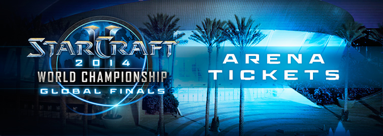 Attend the StarCraft® II WCS Global Finals Live in the Arena! Tickets On Sale October 7