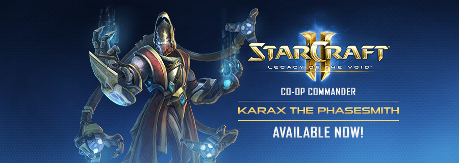 Karax now Available in Legacy of the Void Co-op Missions!