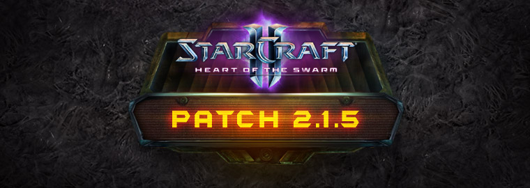 StarCraft II 2.1.5 Patch Notes