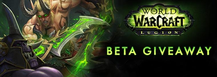 Legion Beta Key Giveaway