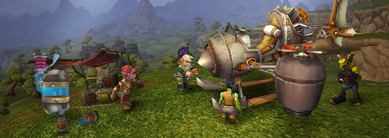 Dev Watercooler – Flying in Draenor