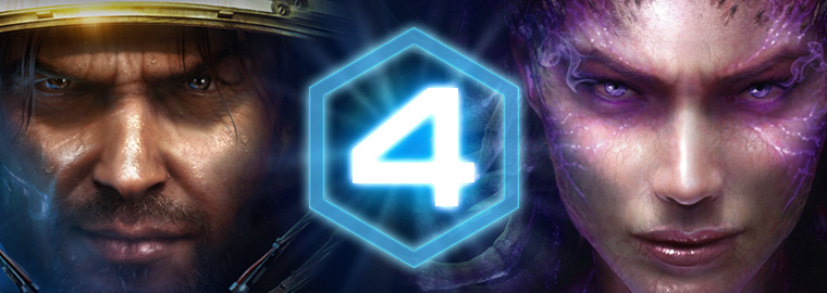 It's the Fourth Anniversary for StarCraft II!